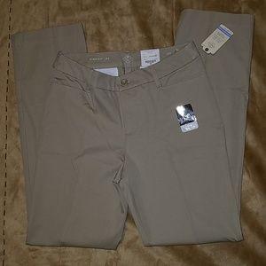 St John's Bay straight leg khaki pants. 10T NWT